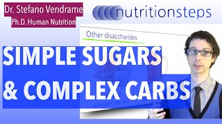 Simple Sugars & Complex Carbs