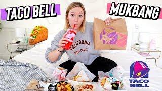 my first taco bell mukbang! vlogmas day 12 by Alisha Marie Vlogs