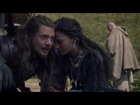 Last Kingdom - Uhtred finds the grave of his son - Full Scene HD