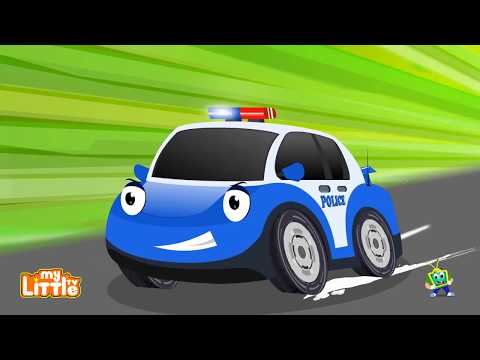 Police chase Robber Toys | Police Car Cartoon video for Kids