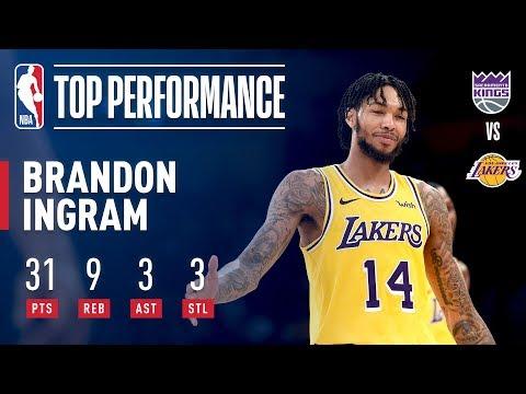 Video: Brandon Ingram Goes SHOWTIME vs The Kings | 2018 NBA Preseason