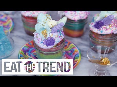 How to Make Lisa Frank Unicorn Cupcakes | Eat the Trend