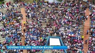 Parque Vitória Régia reúne milhares de pessoas em evento da Força Jovem Universal
