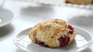 Fast Raspberry Scones - Everyday Food with Sarah Carey by Everyday Food