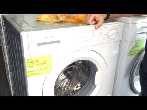 Why Cant you Put a Freestanding Washer Where a Built in one is ?
