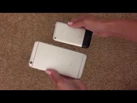 6 1 - This was originally a vine loop I made but thought I'd share here as well! iPhone 6 vs iPhone 1 hahah so crazy. I saved my old iPhone for all it's amazing memories! PREV VID: https://www.youtube.co...