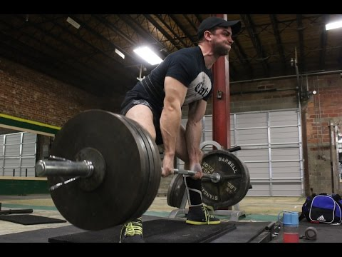Military Powerlifting Nationals Prep- Max Effort Lower Day One