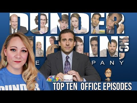 TOP 10  OFFICE EPISODES!!!!