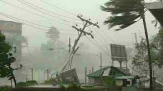 Cyclone Donna effects in Vanuatu  Cat 4  Raw Video