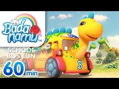 School Bus Fun | Badanamu Compilation