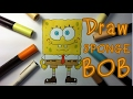 How to Drawing :: Mr. SpongeBoB  Squarepants Time-lapse