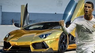Video NEW Another Top 15 Footballers Cars 2015 HD including Messi, Benzema and more! MP3, 3GP, MP4, WEBM, AVI, FLV Mei 2017