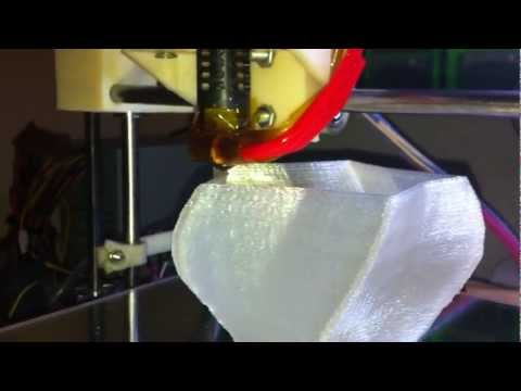 Printrbot PLA Lamp – Vase – 3D Printing
