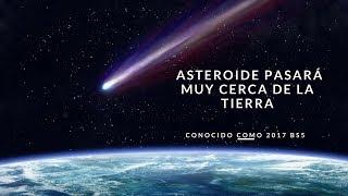 Un asteroide pasará muy cerca de la Tierra este domingo #NA24/7 #NA / Conocido como 2017 BS5, fue descubierto en enero por el observatorio de Haleakala (jawái) y viaja a una velocidad de 5,8 kilómetros por segundo.Este domingo 23 de julio, un asteroide de entre 40 y 90 metros de diámetro pasará muy cerca de la Tierra, según ha informado el programa de Objetos Cercanos de la Tierra (NEOs, por sus siglas en inglés), del Laboratorio de Propulsión a Reacción de la NASA.http://noticiasyactualidad.org/#NoticiasyActualidad    #ElArteDeServir #NAPagina de Facebookwww.facebook.com/elartedeservircrVisita nuestra web Recursos gratis www.elartedeservir.orgSí desea  mantenerse informado con los acontecimientos más recientes por favor visita nuestra página, utilizamos fuentes de información confiable para una noticia verídica,   Sí tienes una consulta acerca de algún tema de su interés, comunícate con nosotros a través de nuestra página de Facebook o bien por medio de un correo electrónico. También sí desea descargar materiales gratis ingresá a nuestra página web y encontrarás muchos recursos, esperamos que te sean de utilidad. Gracias por mantenerse informado con El Arte De Servirwww.elartedeservir.orgwww.facebook.com/elartedeservircrNota: No pedimos ni cobramos dinero por  ninguno de los servicios que brindamos  a nuestros seguidores, si alguna persona pide en nuestro nombre por favor reportarlo.Otras servicios http://www.elartedeservir.org/https://actualidad.rt.comhttp://noticiasyactualidad.org/