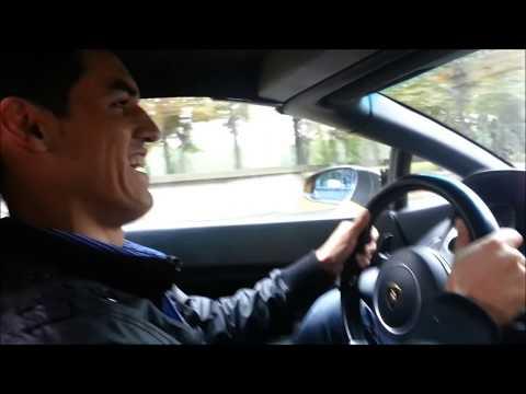 lamborghini driving through Paris, France. International business. #YPR lifestyle. online business