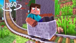 Travel The MULTIVERSE! - Minecraft 360° Video Roller Coaster