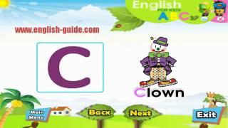 تعليم الاطفال الانجليزية - الحروف - Letters