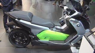 6. BMW Motorrad C Evolution (2017) Exterior and Interior