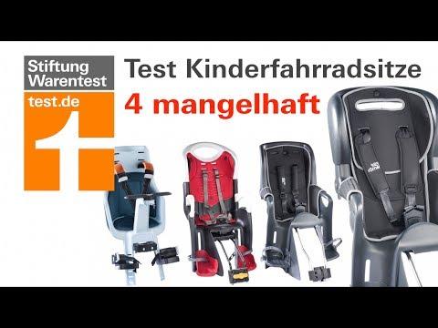 Test Kinderfahrradsitze: Mangelhaft für Römer Jockey &  ...