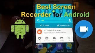 If you need to record whats taking place on your screen on Android this is the best app to use to record it hands down. Easily capture video, save and transfer it to other devices if you like.Will capture both Video and audio from your phone and does not require root access.
