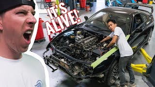 """Big Turbo Supra is """"UP TO SPEED by TJ Hunt"""