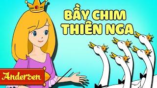 Bầy Chim Thiên Nga | Truyện Cổ Tích Cho Bé | Giọng Miền Bắc Ultra HD 4k