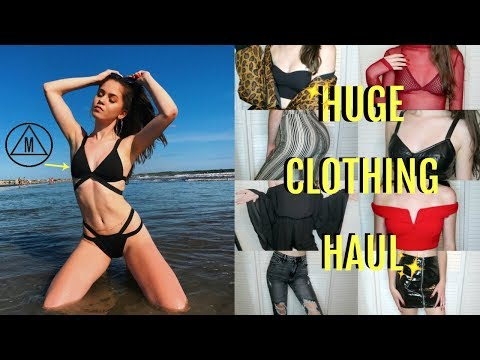 HUGE CLOTHING HAUL (Missguided, FOREVER 21, Savers etc.)