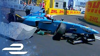The tight, narrow track in New York City proved a challenge for the Formula E drivers during the inaugural double bill. We've assembled every lock up, slide, questionable manoeuvre and crash for you to scrutinise and enjoy!Subscribe For More Formula E: https://goo.gl/med6hMRace Tickets:http://info.fiaformulae.com/Visit Our Site For More: http://www.fiaformulae.com/Like Us On Facebook: https://www.facebook.com/fiaformulaeFollow Us On Twitter: https://twitter.com/FIAformulaEFollow Us On Instagram: https://instagram.com/fiaformulae/Add Us On Snapchat: FIAFormulaE