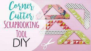 Subscribe!☆⋰⋱☆ https://www.youtube.com/user/SweetBioDesign Let's create a Cutter for Corners in scrapbooking! Enjoy! take...
