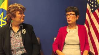 People To People Radio: US Ambassador To Ethiopia Patricia M. Haslach, Interview By Katy Dickinson