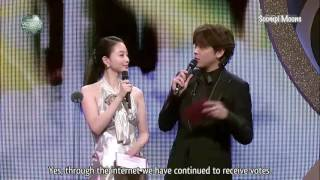 Nonton [Engsub] Moon Geun Young - Moon Chae Won Best Couple Award 2008 (SBS Drama Awards) Film Subtitle Indonesia Streaming Movie Download