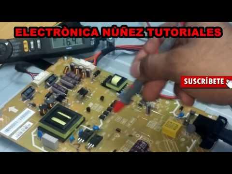 Reparando LED Panasonic tc-l39b6x no enciende solo luz de de espera video 1 de 3