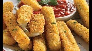 Mozzarella Sticks ~ Easy & Delicious!! - YouTube