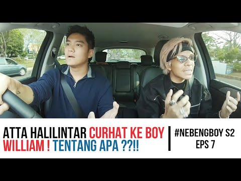 #NebengBoy S2 Eps. 7 - Atta Halilintar curhat ke Boy William