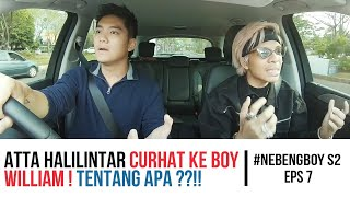 Video Atta Halilintar curhat ke Boy William - #NebengBoy S2 Eps. 7 MP3, 3GP, MP4, WEBM, AVI, FLV November 2018