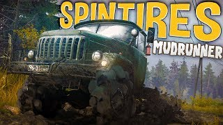 Spintires Mudrunner - The Great Multiplayer Race! - Spintires Mudrunner Multiplayer Gameplay