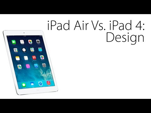 iPad Air Versus iPad 4