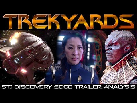 ST: Discovery SDCC Trailer - Full Analysis/Review (Trekyards)