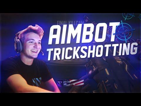 CRAZY BO2 AIMBOT TRICKSHOTTING!!