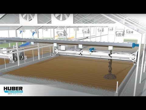 Animation: HUBER Sludge Turner SOLSTICE®