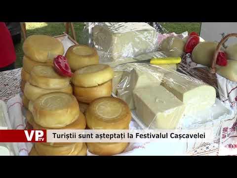 Turiștii sunt așteptați la Festivalul Cașcavelei