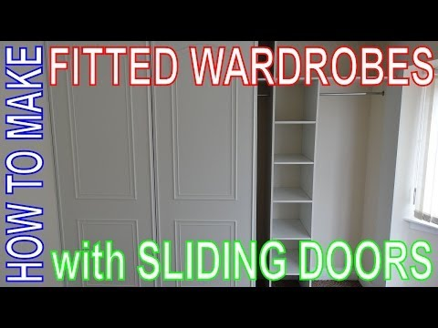 build free standing closet