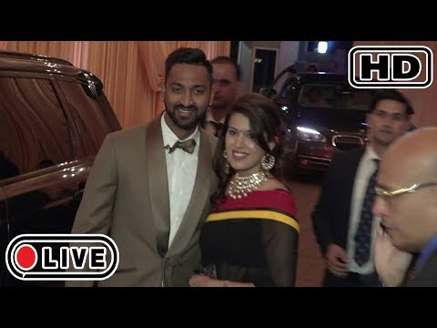 Krunal Pandya At Mukesh Ambani's Daughter Isha Ambani's WEDDING Reception
