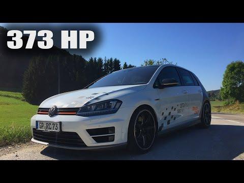 VW Golf R Review Test Drive POV 373 HP RaceChip