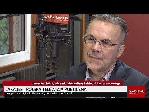 Wideo1: Rozmowy Elki: Jarosław Sellin, wiceminister kultury i dziedzictwa narodowego