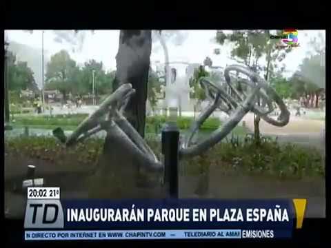 Inauguración de Plaza España