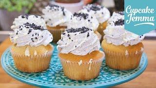 Black Sesame & White Chocolate Mudcake Cupcakes   Cupcake Jemma by Cupcake Jemma