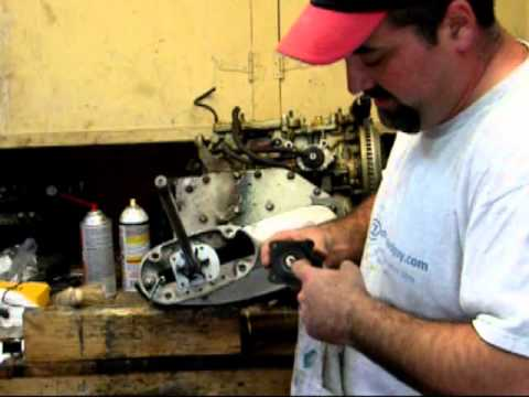 How to change the water pump impeller in a 1966 45 hp Chrysler outboard motor. omcjoe theoutboardguy