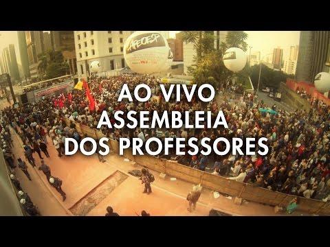 AO VIVO ASSEMBLEIA DOS PROFESSORES 12/06/2015