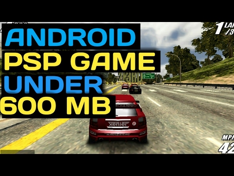 TOP 5 PSP GAME ON ANDROID BELOW 600 MB (ISO)